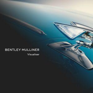 Bentley представляет новый Mulliner Visualiser для создания эксклюзивных конфигураций