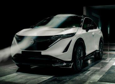 Ariya должна стать лучшим по аэродинамике кроссовером в истории Nissan