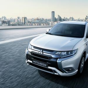 Mitsubishi Outlander PHEV – лидер продаж в Европе