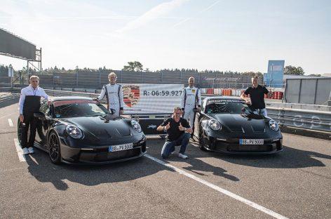 Porsche 911 GT3 с технологиями из автоспорта
