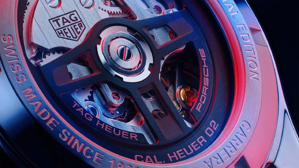 Porsche и TAG Heuer