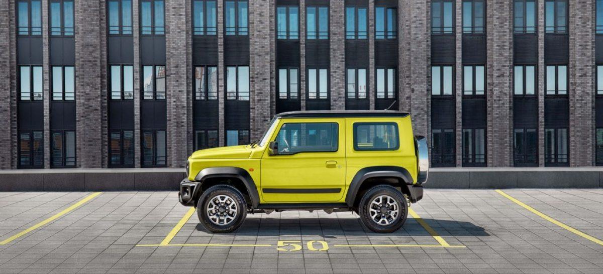 Suzuki Jimny доступен в кредит без первого взноса и переплат