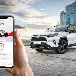 Стильный и подключенный: стартовали продажи RAV4 Style с функциями Toyota Connected Services