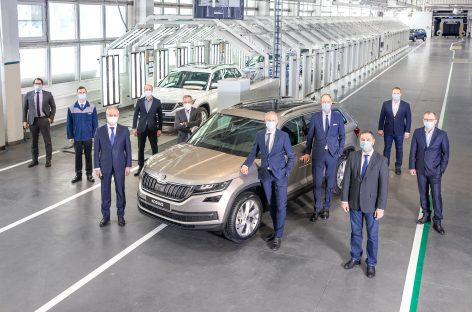 Volkswagen отмечает производство 400-тысячного автомобиля на заводе в Нижнем Новгороде