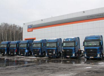 Десять тягачей Ford Trucks F-MAX для «ДИО Логистик»