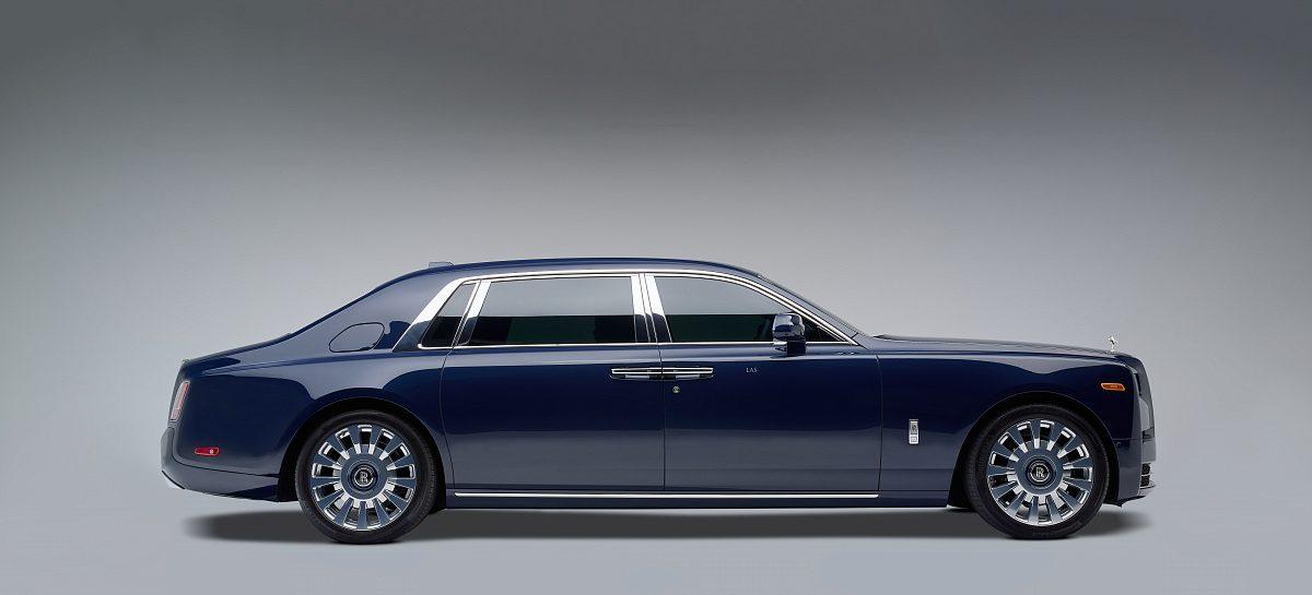 Rolls-Royce Phantom с редчайшим деревом Koa