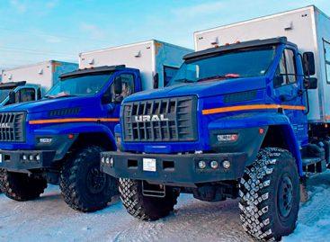 На российский авторынок вышел внедорожный автобус «Урал Берлога»
