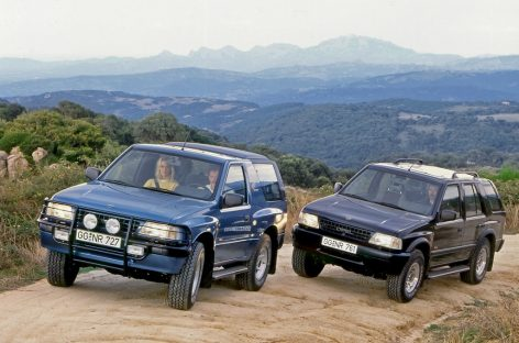 Трендсеттер и бестселлер: 30 лет Opel Frontera