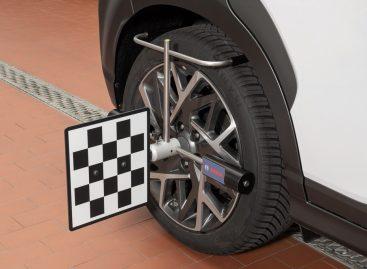 Новый калибровочный стенд Bosch DAS 3000 для систем помощи водителю