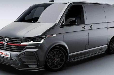 Немцы представили «спортивный» вариант Volkswagen Transporter