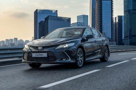 Начинаются продажи обновленного Toyota Camry
