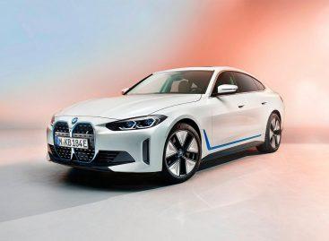 BMW официально показала новый электрический седан BMW i4