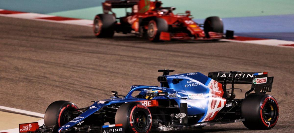 Команда Alpine F1 Team на Гран-при Бахрейна