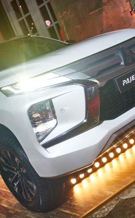 Mitsubishi представил обновлённый Pajero Sport