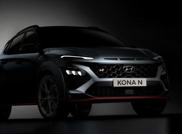 Hyundai Motor представляет первые изображения нового кроссовера KONA N