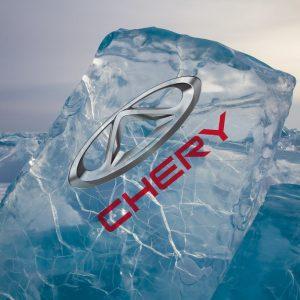 Первая интрига весны – Chery Tiggo 8 Pro в ледяном кубе