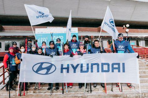 Команда Hyundai приняла участие в благотворительной Лыжне 6250