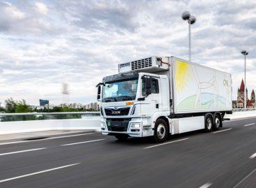 Доставка продуктов питания с помощью электрических грузовиков. MAN участвует в исследовании в Берлине