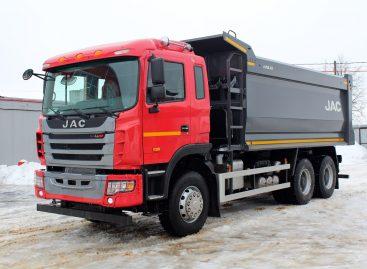 В России стартовали продажи самосвала JAC N350 казахстанской сборки