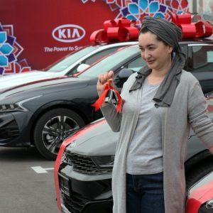 В Узбекистане начались продажи автомобилей Kia, произведенных локально