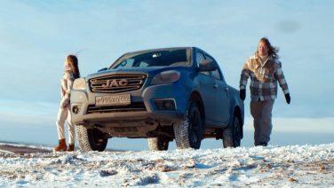 JAC T6 стал героем клипа рок-музыканта Романа Архипова