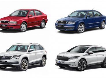 Skoda отмечает 30 лет в составе Volkswagen Group: история успеха