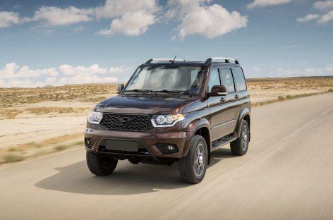 УАЗ приступает к продажам Патриот АКПП в Чили