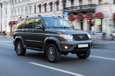 УАЗ в 2021 году выпустит битопливный внедорожник УАЗ Патриот