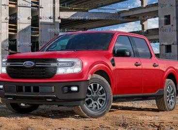 В сети опубликовали первые изображения пикапа Ford Maverick
