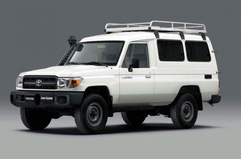 Toyota Land Cruiser 70 превратили в автомобиль для перевозки вакцин