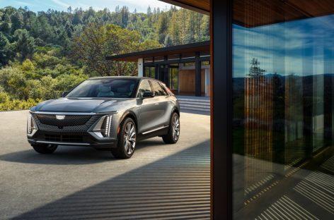 Премьера серийного Cadillac LYRIQ открывает полностью электрическое будущее