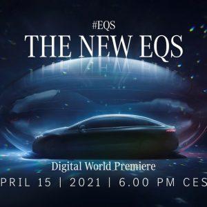 EQS на Mercedes me media – онлайн-презентация электрического седана