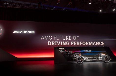 Mercedes-AMG определяет будущее спортивной динамики