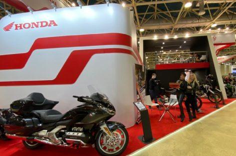 Honda Gold Wing Tour 2021 модельного года на выставке «Мотовесна-2021»