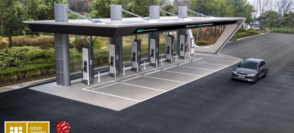 Hyundai удостоилась наград iF Design Award 2021, включая «золото» за станцию зарядки электромобилей E-pit