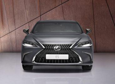 Мировая премьера обновлённого бизнес-седана Lexus ES