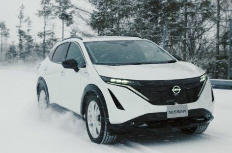 Nissan Ariya сочетает в себе передовые технологии и прекрасную управляемость