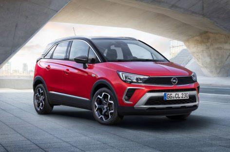 Opel объявляет старт продаж на новый кроссовер Opel Crossland в России