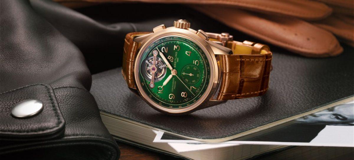 Новая лимитированная серия от Bentley и Breitling: хронограф с турбийоном