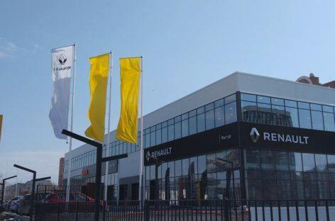 Renault открыла новый дилерский центр в Новосибирске