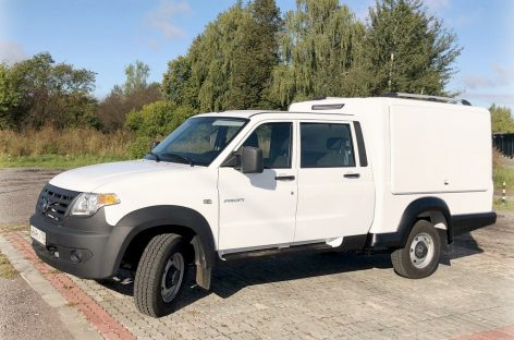 УАЗ представляет многофункциональный фургон на базе Профи