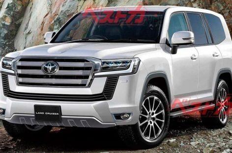 Абсолютно новый Toyota Land Cruiser обрастает деталями