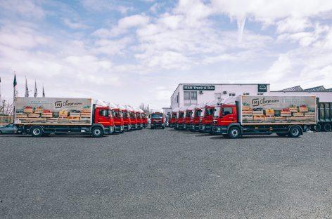 Комплексные эффективные транспортные решения MAN: крупнейшая розничная сеть «Магнит» обновляет свой парк автомобилей