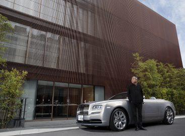 Уникальный Dawn от Rolls-Royce в коллаборации с архитектором Кенго Кумой