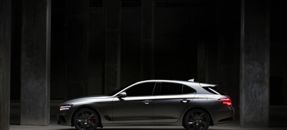 Genesis представил седан G70 в кузове Shooting Brake