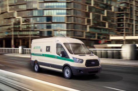 Для российских банков произведут 350 инкассаторских броневиков Ford Transit