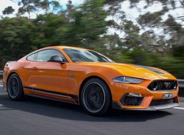 Дорогая реклама несуществующего Ford Mustang Mach 1