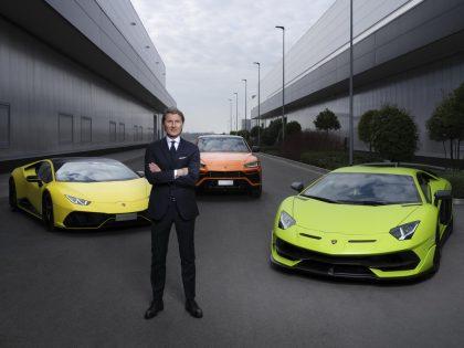 Электрификация «Direzione CorTauri» от компания Lamborghini