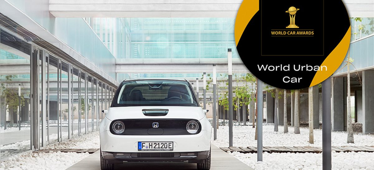 Электромобиль Honda e получил престижную титул World Urban Car of the Year