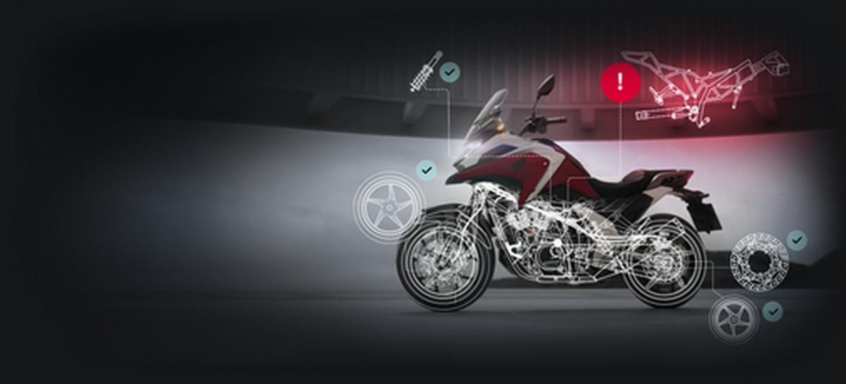 На сайте Honda Motor Rus можно подобрать и проверить мотоцикл Honda